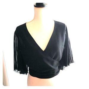 Express Kimono Sleeve Crop Top